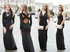 Black maxi dresses #swoonboutique