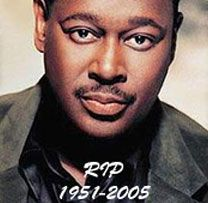 """Luther Vandross (April 1951 – July World renowned award winning iconic artist . """"The Velvet Voice"""" in reference to his exceptional vocal talent, and was sometimes called """"The Best Voice of a Generation. Music Icon, Soul Music, My Music, Indie Music, Jazz Music, Luther Vandross, Patti Labelle Recipes, Nova Jersey, Historia Universal"""