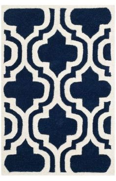 Safavieh Chatham CHT727 Dark Blue Ivory Rug  the 5X7 is 240... but the 3x whatever is less