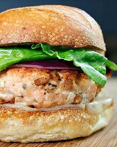 Low FODMAP and Gluten Free - Healthy salmon burgers   http://www.ibssano.com/low_fodmap_recipe_healthy_salmon_burgers.html