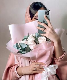 Image about pink in 🕊 The beauty of Islam 🕊 by ياسمين♡ 𝒴𝒶𝓈𝓂𝒾𝓃 Stylish Hijab, Modest Fashion Hijab, Street Hijab Fashion, Arab Fashion, Stylish Dresses, Lovely Girl Image, Beautiful Girl Photo, Mode Turban, Coffee Flower