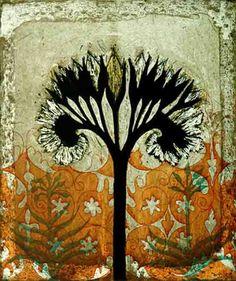 Symphytum Officinale 1 by Kirsi Neuvonen. Line etching, aquatint, copy etching. Collages, Collage Art, Intaglio Printmaking, Color Of Life, Beauty Art, Art Lessons, Flower Art, Folk Art, Illustration Art