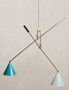 Can we take a sec to talk about how awesome this fixture from O'lampia is? Yes we can, we can talk about it all day and we can look at the sexy lines and ridiculous color combo all day long …