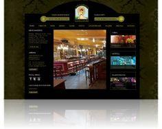 Webseite vom Lady Hamilton Pub in Zürich mit Online-Marketing, CMS, Social-Media, Newsletter, Community und Gutscheinshop
