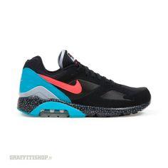 Nike - Air Max 180, Black/Laser Crimson/Dusty Cactus € 149,00. SPEDIZIONE E RESO GRATIS. Pagamenti con carta o contrassegno, 30 giorni soddisfatti o riborsati. Graffitishop.it