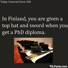 PhD diploma in Finland:D