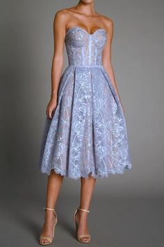 Classy Dress, Classy Outfits, Beautiful Outfits, Date Night Dresses, Prom Party Dresses, Fairy Dress, Dream Dress, Pretty Dresses, Strapless Dress Formal
