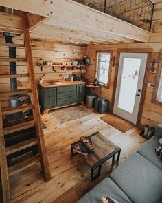 49 Creative Rustic Home Decor Ideas Tiny House Design Creative Decor Home ideas rusticwindow. Tiny Cabins, Tiny House Cabin, Cabins And Cottages, Tiny House Living, Tiny House Plans, Tiny House Design, Cabin Homes, Log Homes, Tiny Homes