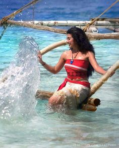 Amazing MOANA cosplay
