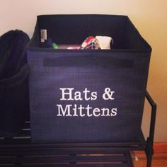 Thirty One Gifts Hats & Mittens...no more losing winter accessories! www.mythirtyone.com/hollieboshers