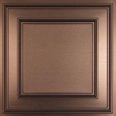 Cambridge bronze ceiling tile