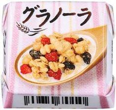 """チロルチョコから、「第3の朝食」として人気の""""グラノーラ""""を使った新商品「チロルチョコ〈グラノーラ〉」が発売される。"""