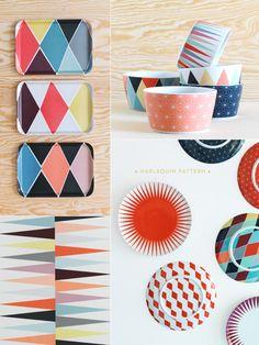 harlequin-patterned-homewares-IKEA-BRAKIG-collection