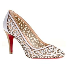 Christian Louboutin Pampas Ron 85 pumps. I might actually wear these shoes.