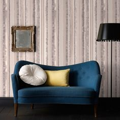 Romany Stripe Wallpaper in Natural design by Graham & Brown