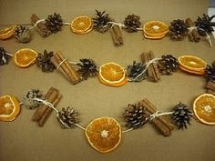More Dried Fruit Decor DIY