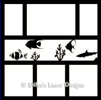aquarium frame 2 page layout $9