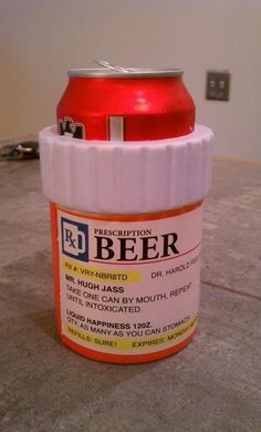 Take One Can by mouth, repeat until intoxicated #BEER :D