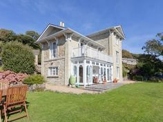 Holiday Accommodation, Isle Of Wight, Mansions, House Styles, Home Decor, Decoration Home, Manor Houses, Room Decor, Villas