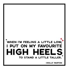 A good pair of shoes can brighten up the day  #highheels #shoelovetruelove #DollyParton