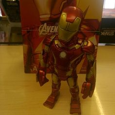 """""""Iron man headknocker by Hot Toys now in store and on our depop app £34.99"""" Photo taken by @diversionsgifts.co.uk on Instagram, pinned via the InstaPin iOS App! http://www.instapinapp.com (06/30/2015)"""