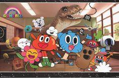 Amazing World of Gumball Cartoon Cast TV Show Poster 22x34 – BananaRoad