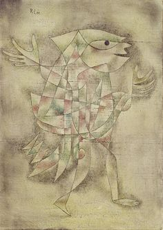 Paul Klee (1879-1940), Kleiner Narr in Trance (Little Jester in a Trance), 1929 (46). Oil on Canvas. 50.50cm H x 35.5 cm W. (Museum Ludwig, Cologne) (Image © RBA)