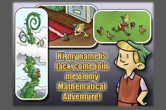Jack and the Beanstalk -A Mathematical Adventure for Kids #edtech #edtechchat #edapp #edtool #edchat #iosapp #mathapp