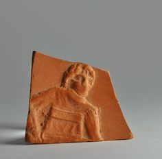 African red slip ware sherd with binding of Isaac 4
