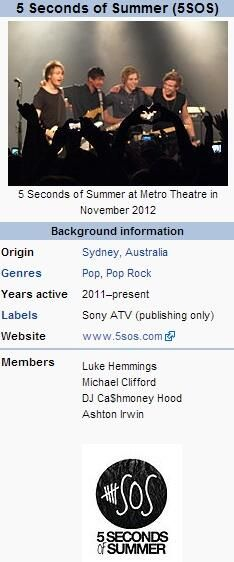 Guys, look at Calum's name and tell me something's not different here...