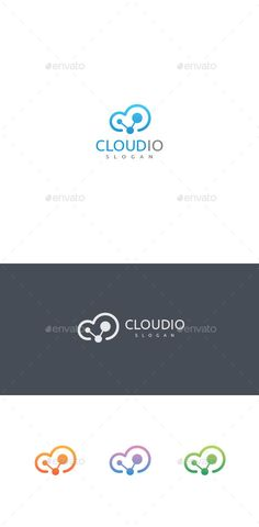 Cloud Logo Template — Vector EPS #server #internet • Available here → https://graphicriver.net/item/cloud-logo-template/11760575?ref=pxcr