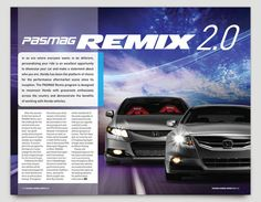 Honda Remix 2.0 Brochure by Patrick Beltijar, via Behance