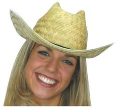 767528757a5a7 This Straw colored Straw Cowboy Hat is perfect for rodeos