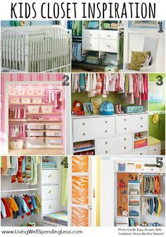 Join the LWSL Clutter Free Challenge this month & FINALLY get rid of the clutter that is filling up your home, mind & schedule...once and for all! Day 18 focuses on the Kids Closets --check out today's post for inspiration and a checklist to get you started! #LWSLClutterFree
