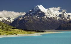 Aoraki / Mount Cook is the highest mountain in New Zealand. Description from pinterest.com. I searched for this on bing.com/images