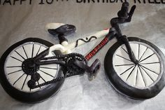 Bike cake by Designer_Cakes, via Flickr