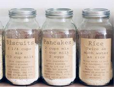 Étiquettes pour garde-manger