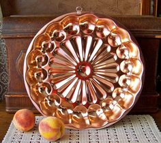 Copper Jello Mold by cynthiasattic on Etsy, $25.00