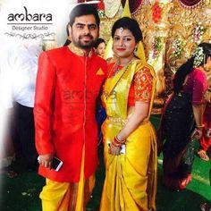 Couple Outfits, Family Outfits, Wedding Couple Poses Photography, Photography Poses, Indian Men Fashion, Mens Fashion, Telugu Brides, Indian Man, Sherwani