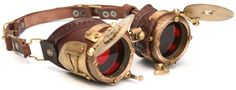 My safety goggles #steampunk