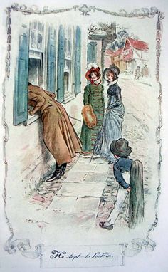 C E Brock illustration for Jane Austen's Emma