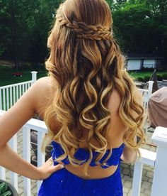 #prom #hair #curls #curly