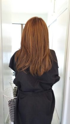 Ombre hair and haircut by Helene