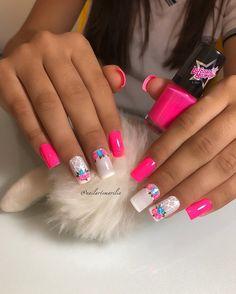 80 ideas to create the best Halloween nail decoration - My Nails Cute Nails, Pretty Nails, My Nails, Hello Nails, Unicorn Nails Designs, Work Nails, Heart Nail Art, Dream Nails, Nail Decorations