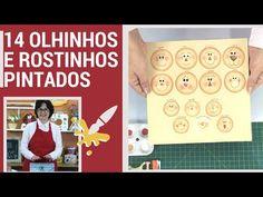 14 OLHINHOS E ROSTINHOS PINTADOS SEM GASTAR NADA COM FERRAMENTAS - YouTube