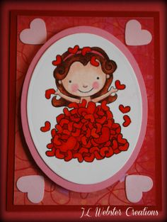 Childrens mini Valentines day cards - perfect for school!