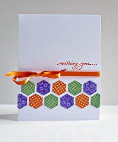 Happy hexagons ; Wishing you