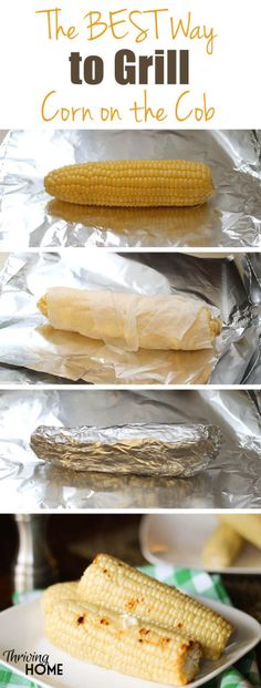 A great little trick that will help you grill flawless corn on the cob. In fact, we will grill corn no other way after using this method. While you could easily boil corn on the cob, grilling corn brings out a different, richer flavor and adds that yummy Grilling Tips, Grilling Recipes, Cooking Recipes, Grill Meals, Healthy Grilling, Cooking Tips, Good Food, Yummy Food, Tasty