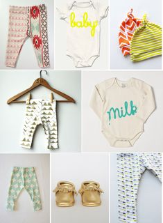 8 Online Shops for Baby Clothes // Urbanwalls Blog
