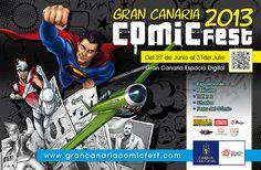Noche y Día Gran Canaria: Del 27/06 al 29/06: Una nueva edición del Gran Canaria Comic Fest